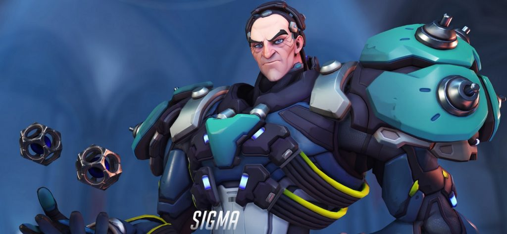 Sigma's powers put him squarely in the role of main tank. (Image via Blizzard Entertainment)