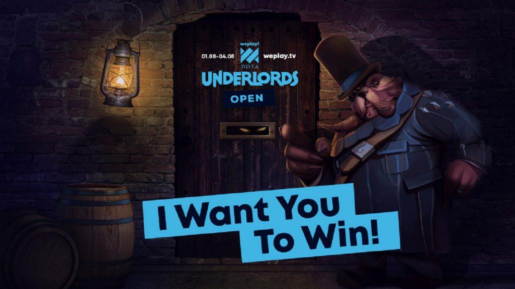 WePlay! Dota Underlords Open gets underway August 1-4. (Image via WePlay!)