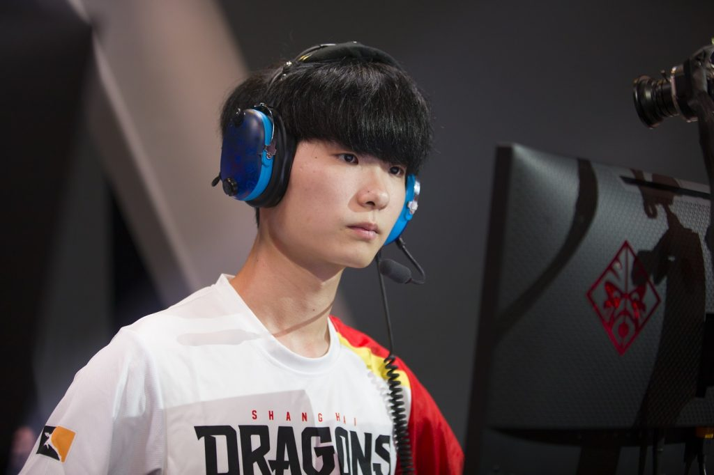 "Kim ""IzayakI"" Min-chul of the Shanghai Dragons"