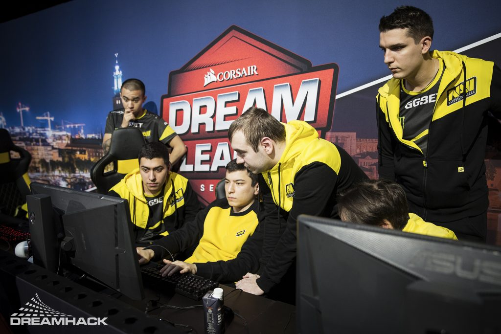 A fan-favorite organization, Natus Vincere is ready for success with a new generation of players. (Image via DreamLeague / Photo by Jennika Ojala)