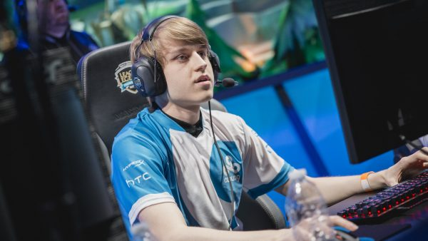 Wiggily first joined the LCS system in the blue and white of Cloud9. Image via Riot Games.