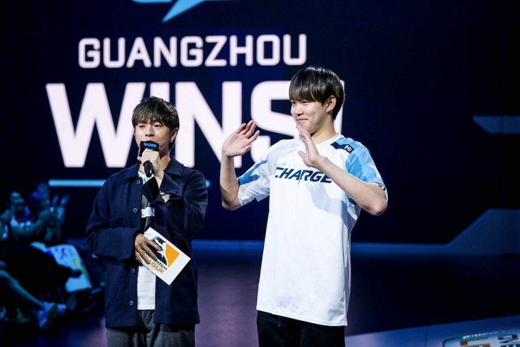 Guangzhou Charge will compete soon in Overwtch League play-ins