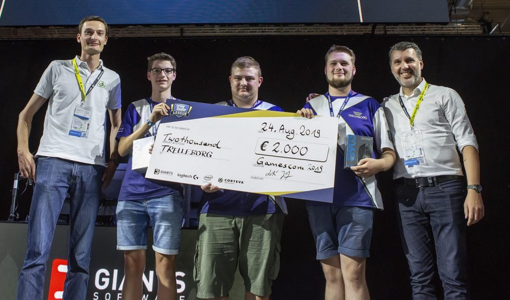 Trelleborg won the second Farming Simulator League tournament, held at Gamescon. (Image via @CortevaEUR / Twitter)