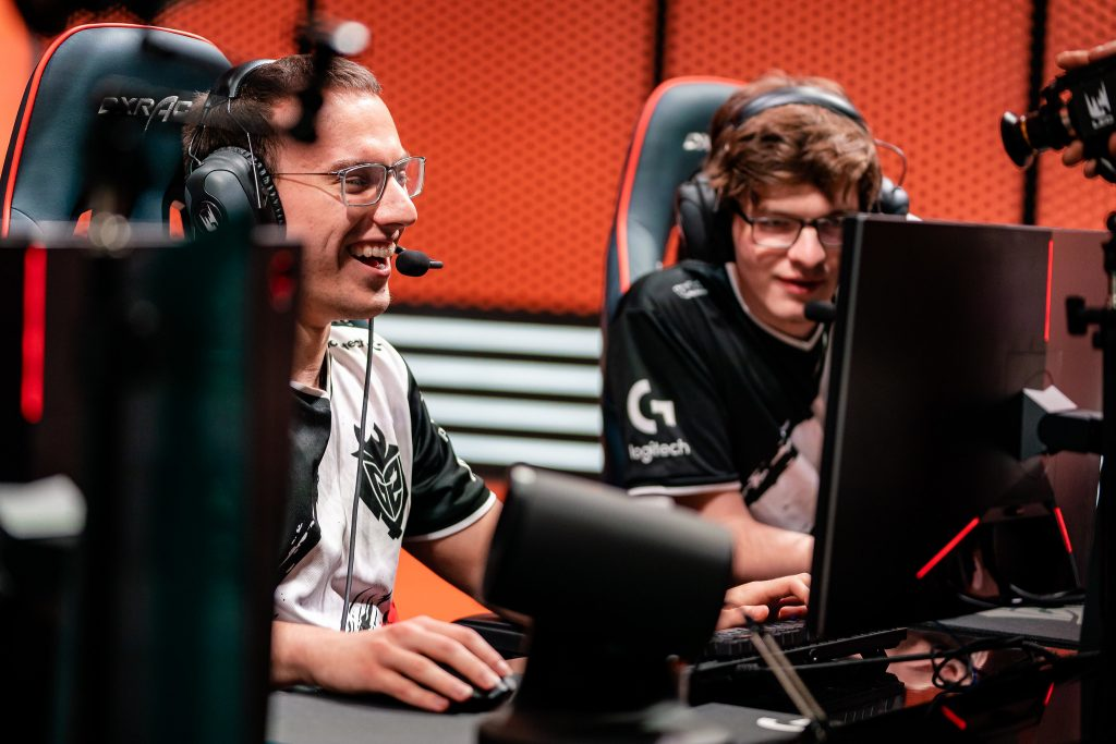 G2 Esports claimed revenge against Fnatic in the rivalry rematch. Image via Riot Games.