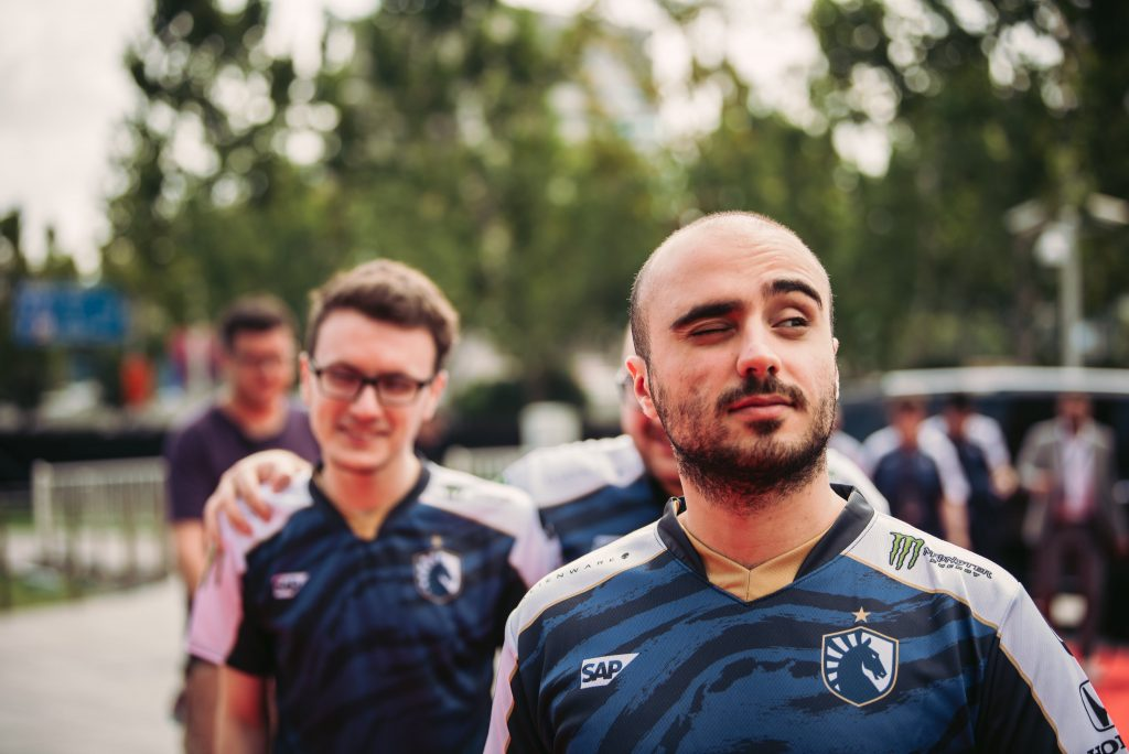 Team Liquid defeat PSG.LGD 2-1 in the TI9 lower bracket finals to advance to the Grand Finals. (Image via Valve)