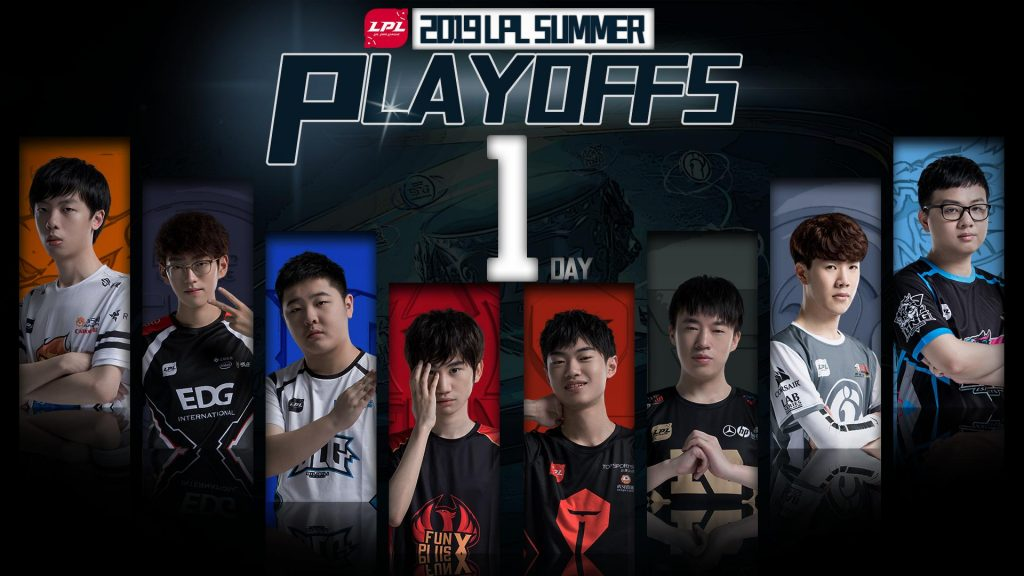 The LPL Summer playoff teams are ready to compete. (Image via @lplenglish / Twitter)