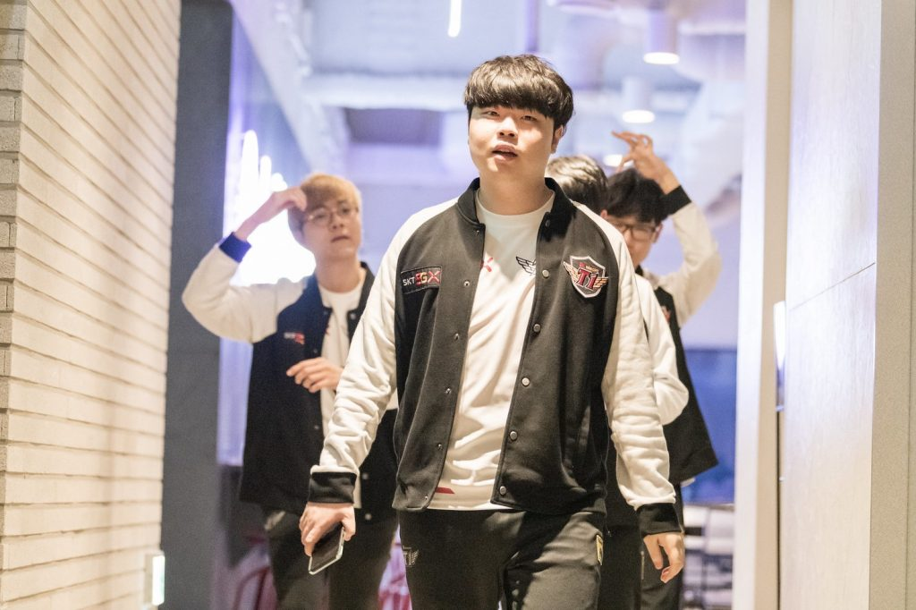 SK Telecom T1 made it to the LCK Summer playoffs. (Image via Riot Korea)
