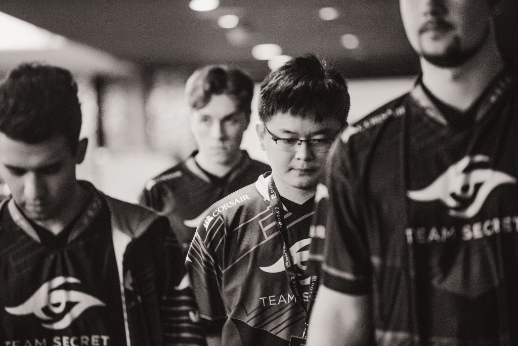 Team Secret looked like they had returned to their DPC form with their performance versus Vici Gaming at TI9. (Image via Valve)