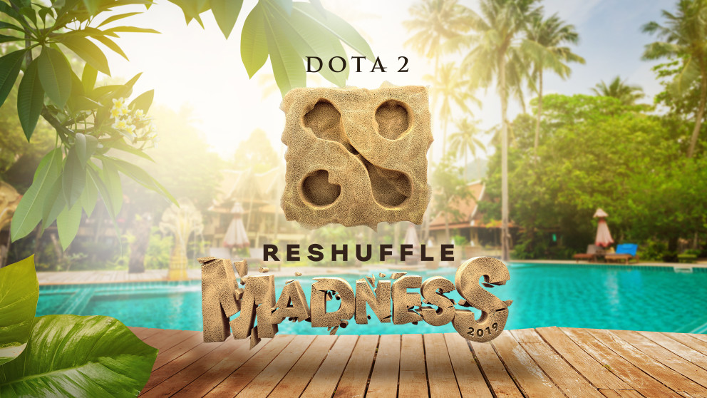 WePlay! 's latest event, Reshuffle Madness 2019, will finish just hours before Midas Mode 2 begins. (Image via WePlay!)