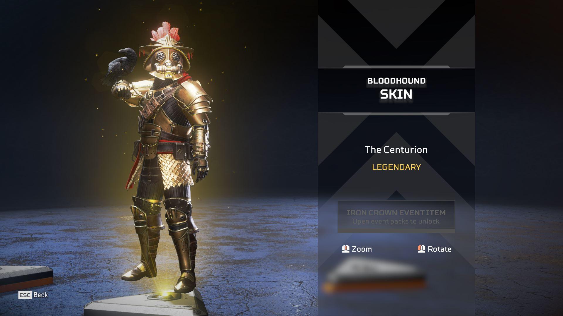 Bloodhound Centurion skin