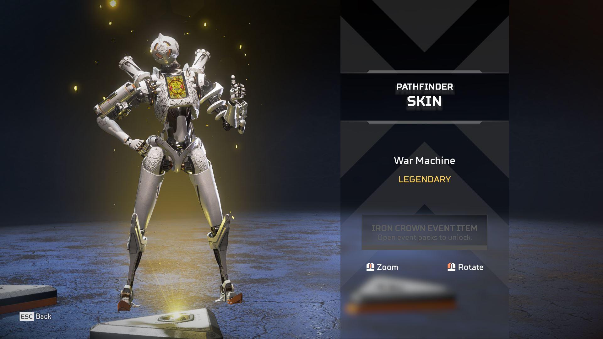 Pathfinder war machine skin