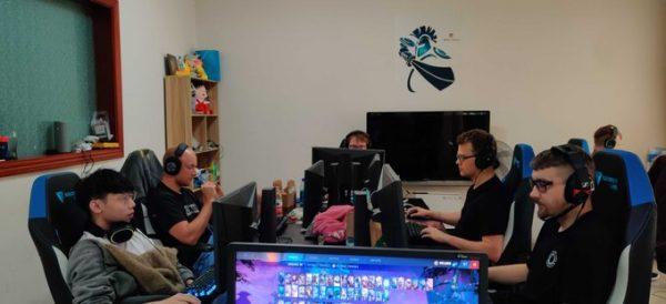 Chaos Esports Club begins their TI9 bootcamp at the Newbee gaming house. (Image via Chaos Esports Club)
