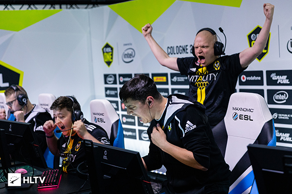 Maybe no team exhibits the desire to be No.1 quite like Team Vitality (Photo courtesy of HLTV)