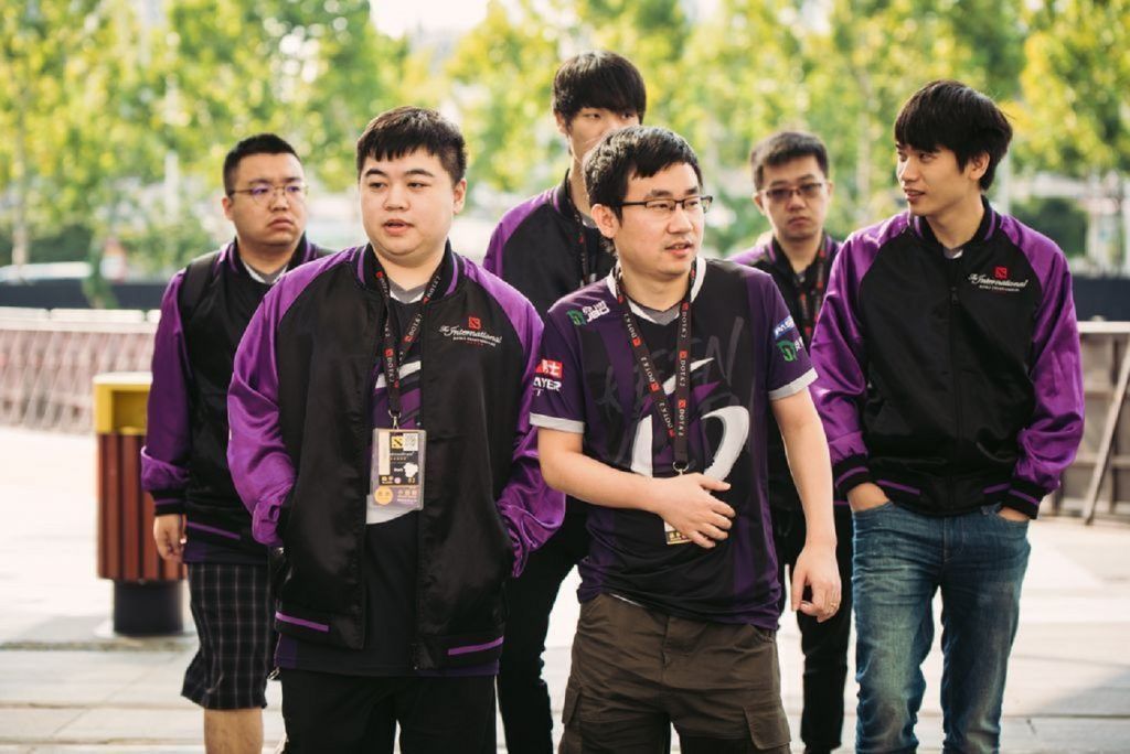Keen Gaming are the first Chinese team eliminated from TI9. (Image via Valve)