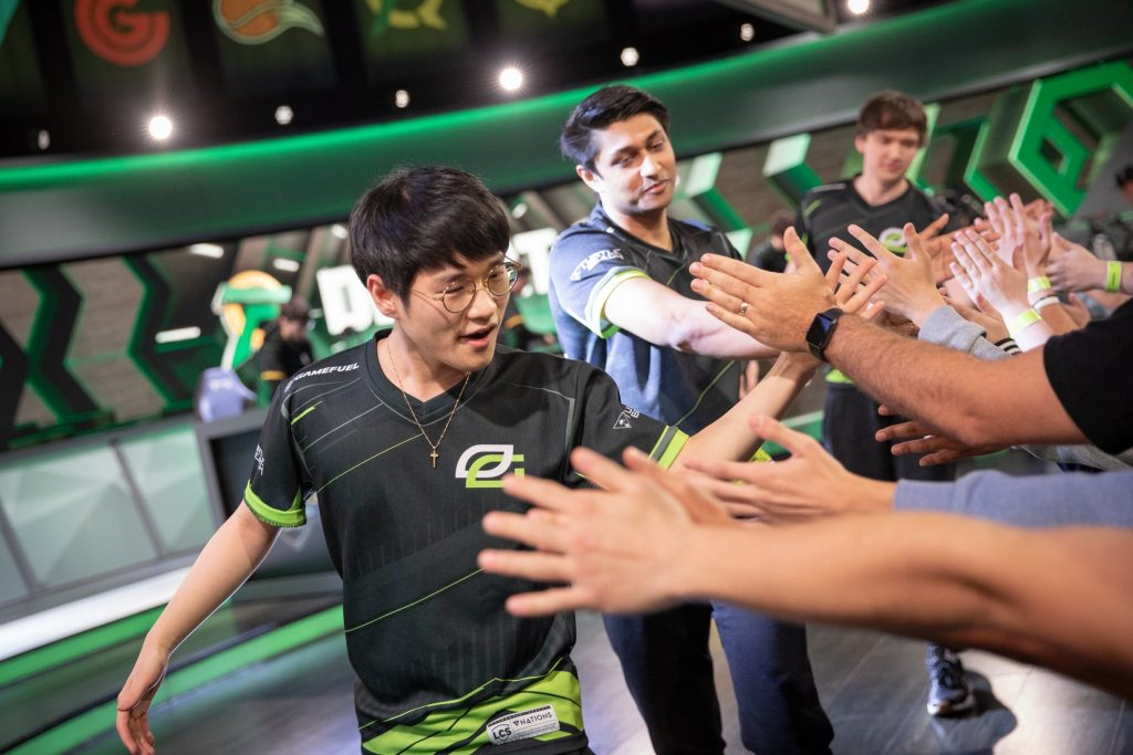 Optic Gaming and Clutch Gaming eked out LCS playoffs spots in the last week of the Summer Season. (Image via Riot Games)