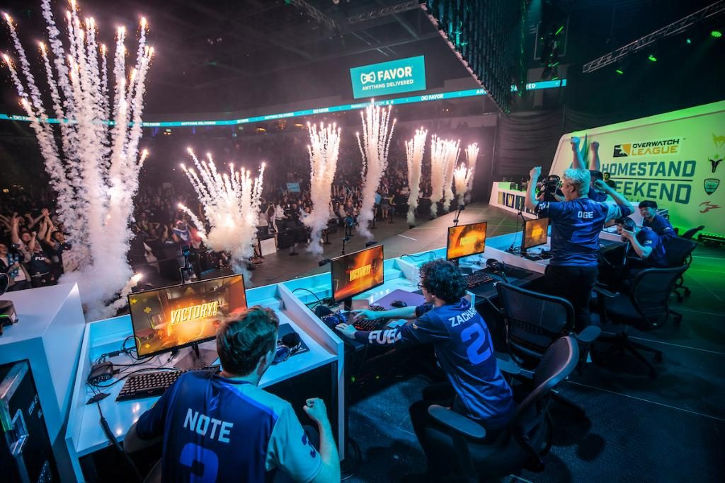 The Dallas Fuel will host an Overwatch League-high five weekends during the 2020 season (Photo courtesy of the Overwatch League)