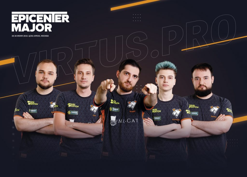 Virtus.pro has only competed internationally a handful of times this year, yet they're still one of the best in the world. (Image via EPICENTER)
