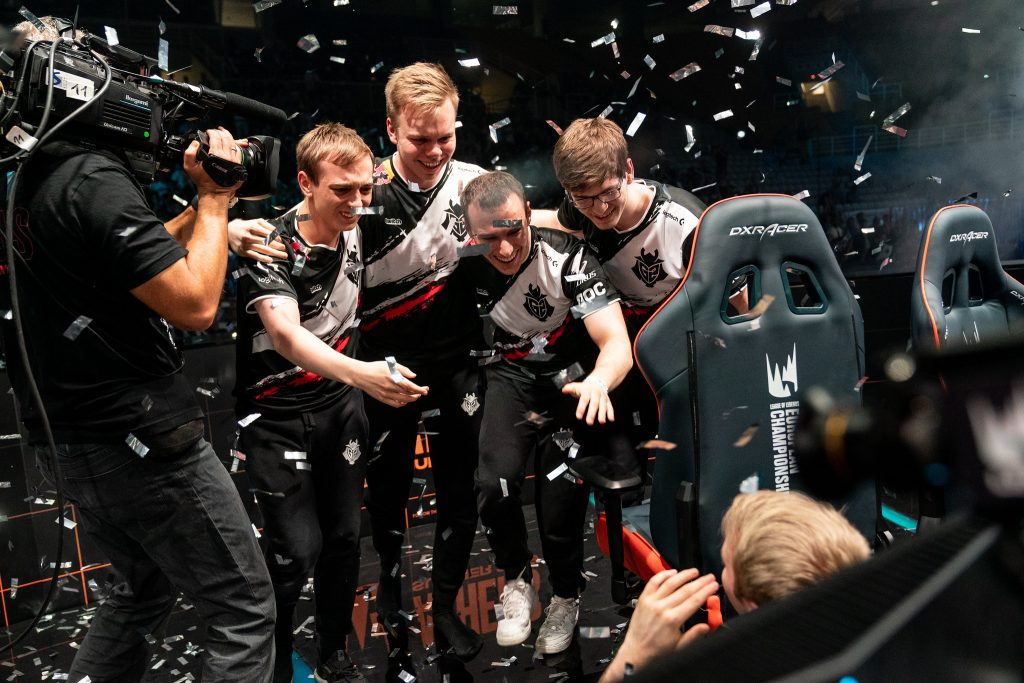After securing back-to-back LEC championships and an MSI title, the World Championship remains as the final stop on G2's journey for greatness. (Photo via Riot Games)