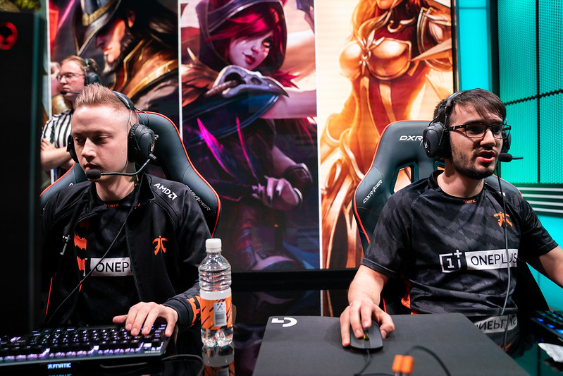 In testing their limits on stage, Fnatic's ceiling steadily increased during the LEC (Photo via Riot Games)