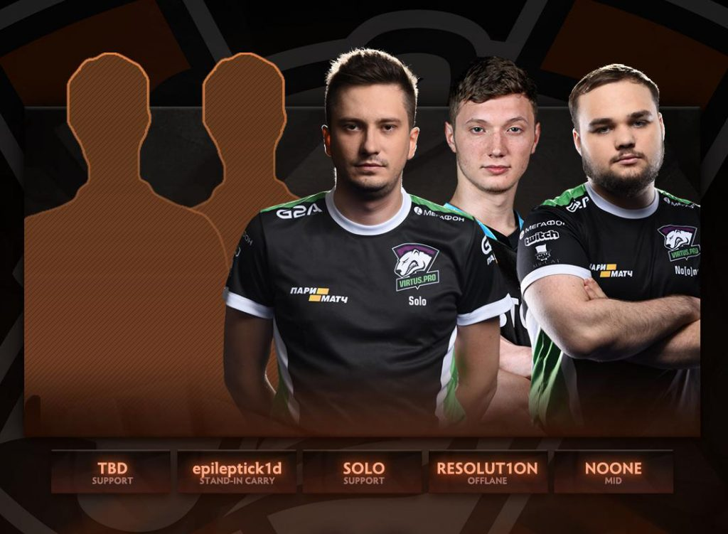 The roster shuffle continues, as J.Storm and Virtus.Pro announce a trade and new lineups (Image via @wykrhm on Twitter)
