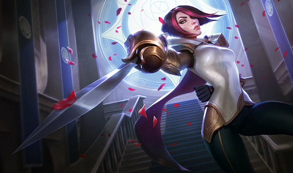 Fiora's buff could make her a high priority champion at Worlds (Image via Riot Games)