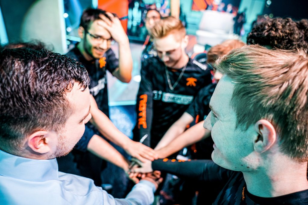 Fnatic during LEC playoffs
