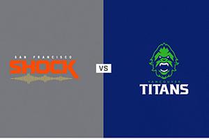 San Francisco Shock vs Vancouver Titans