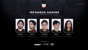 New Infamous Dota 2 Roster for Third DPC Season