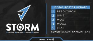 J.Storm Confirms Roster for 2019-2020 DPC Season
