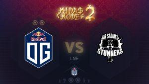 Midas Mode 2.0 Day 3: OG vs Sir Sadim's Stunners