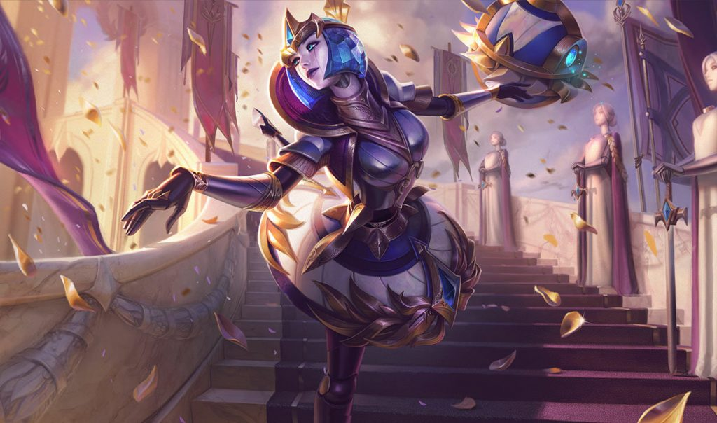 Orianna is one of the safest blind picks in LoL and will surely be seen at Worlds (Image via Riot Games)