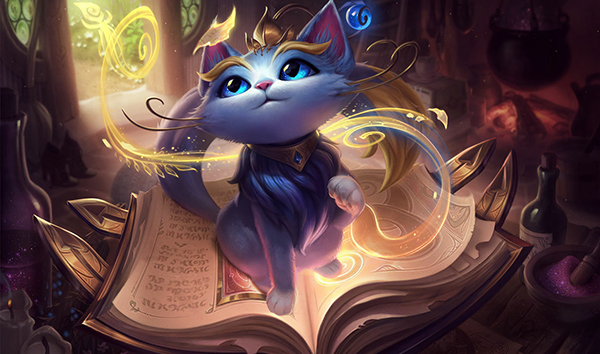Yuumi's nerfs should mean that she is no longer an auto-ban at Worlds (Image via Riot Games)