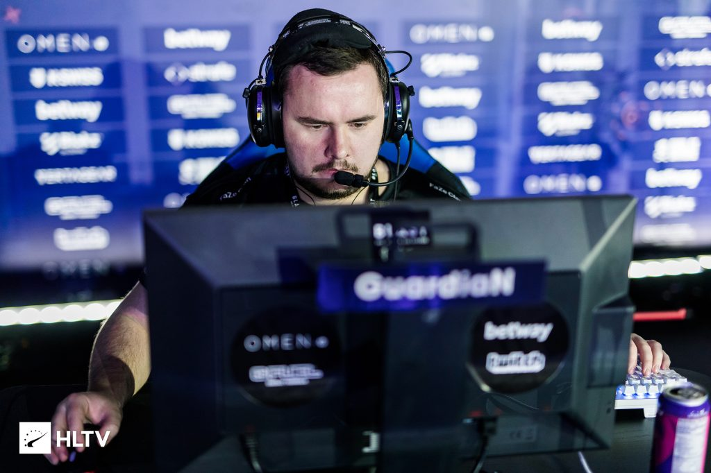 """Ladislav """"GuardiaN"""" Kovács will be reuniting with his former organization after his departure from FaZe Clan. (Photo via HLTV)"""