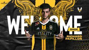 Team Vitality Enlists shox for CS:GO Team
