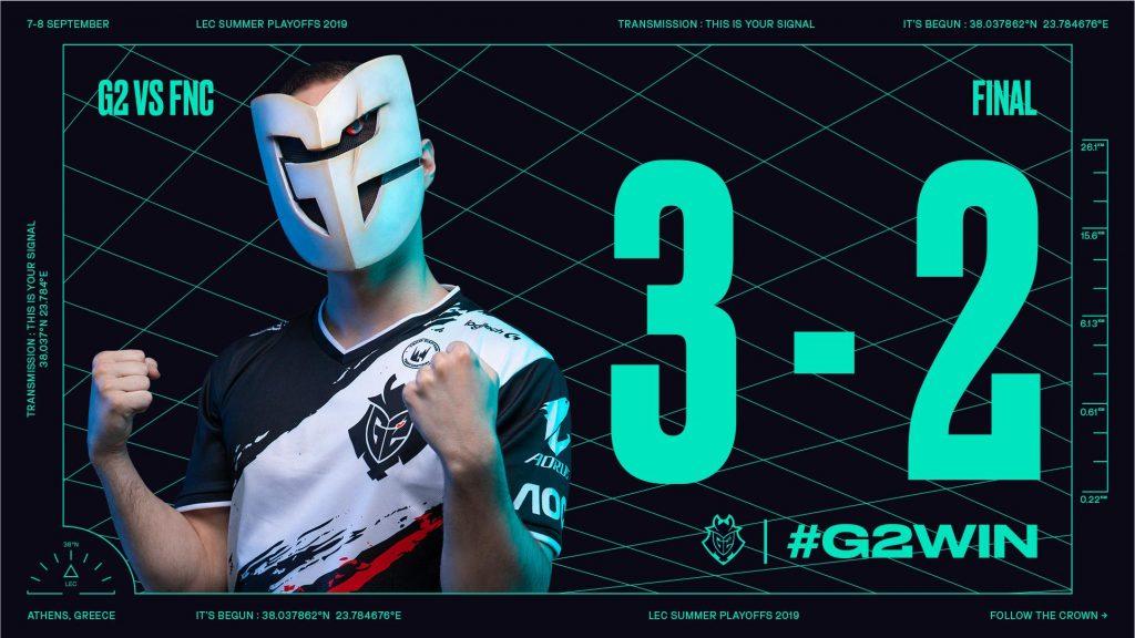 G2 win LEC