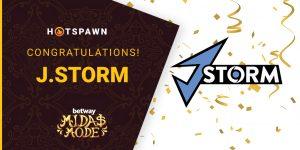 Midas Mode 2.0 Americas: J.Storm Triumphs