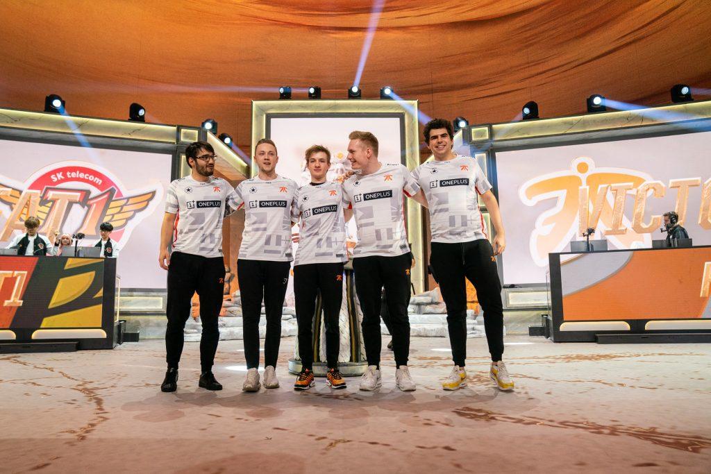 Fnatic 2019 Worlds defeat SKT
