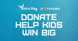 Hotspawn raised $4,600 during Extra Life in 2018.