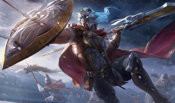 Pantheon League of legends skin
