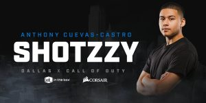 Former Halo Pro Shotzzy Joins Dallas Call of Duty