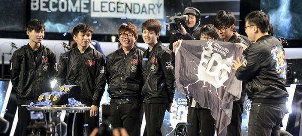 League of Legends EDG wins MSI