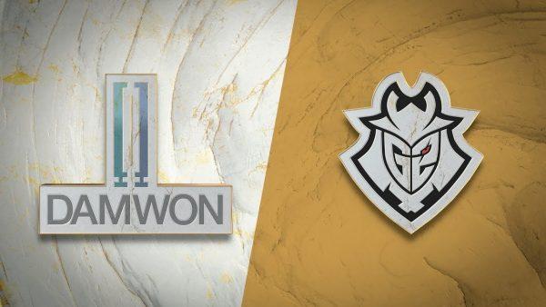 DAMWON vs G2 Worlds 2019