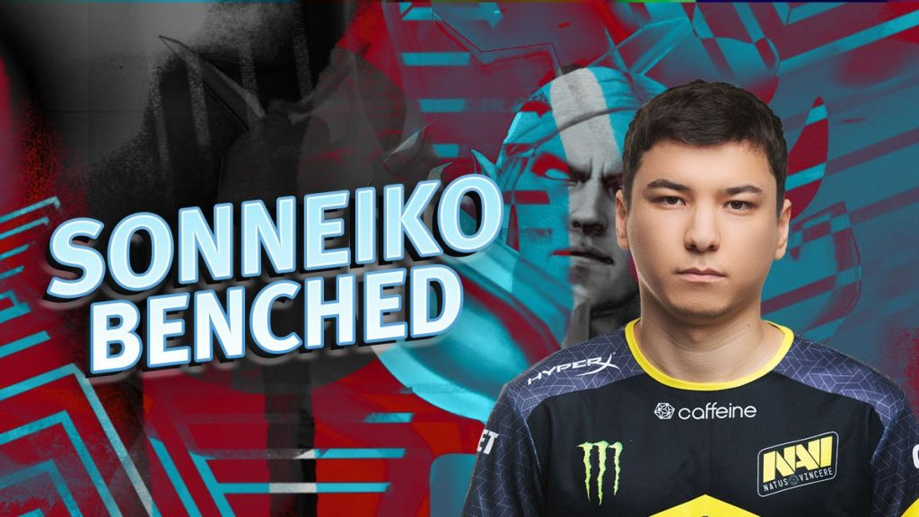 Team captain SoNNeikO finds himself on the bench after a disappointing team performance at the CIS MDL Chengdu Major Qualifiers (Image courtesy of Natus Vincere)