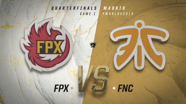 FPX vs Fnatic Worlds 2019