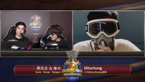 Blizzard Entertainment has announced that they have suspended Hearthstone player Blitzchung following his comments regarding Hong Kong.