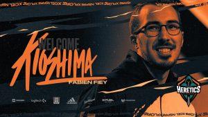 "CS:GO's Heretics Recruit Fabien ""kioShiMa"" Fiey"