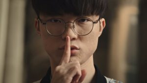 Faker was on top form in his first match of Worlds 2019 (Photo via LoLEsports/Twitter)