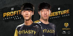 Profit and Gesture have spent their entire professional career playing together (Image via Seoul Dynasty/Twitter)