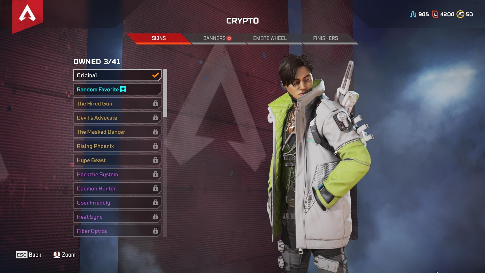 Crypto Apex Legends