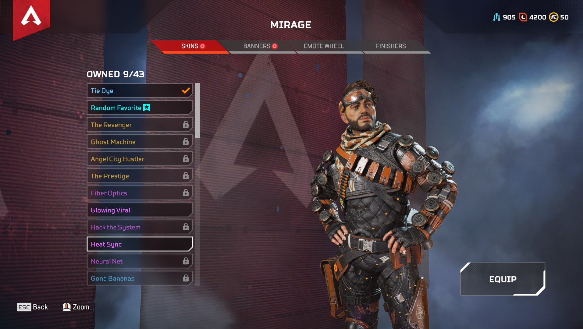 Mirage Apex Legends